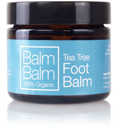 Tea tree organic foot balm