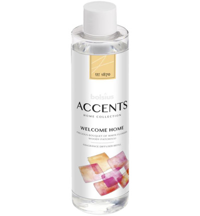 Accents diffuser refill welcome home