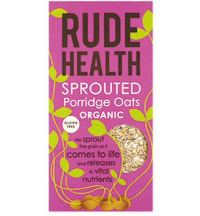 Sprouted porridge oats