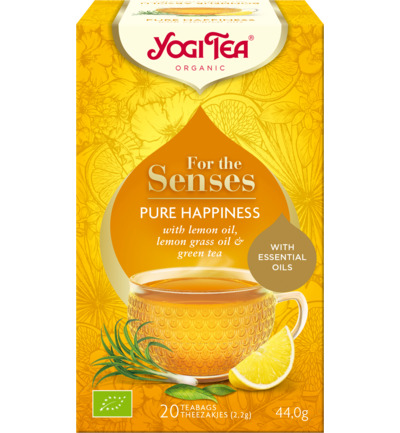 Tea for the senses pure happiness
