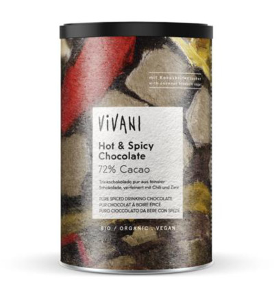 Hot & spicy pure chocolade