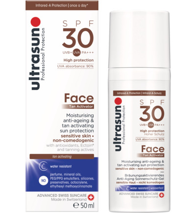 Face tan activ spray SPF30