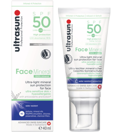 Face mineral SPF50