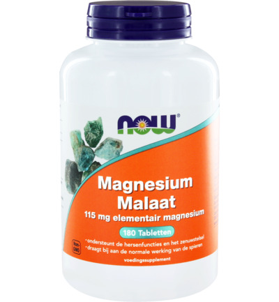 Now Magnesium Malate 1000mg 180tabl