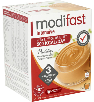 Modifast Intensive Pudding Caramel 423gr