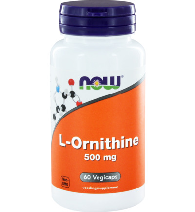 Now L Ornithine 500mg 60caps