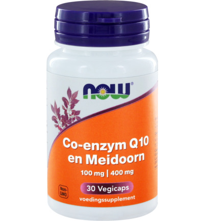 Co-enzym Q10 100 mg met meidoorn
