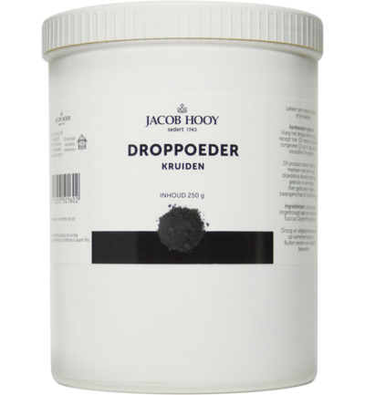 Droppoeder pot