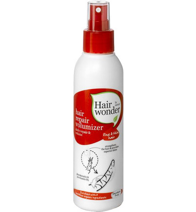 Hair repair fluid hair volumizer