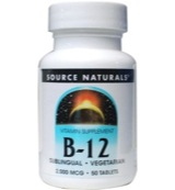 Vitamine B12 sublingual 2000 mcg