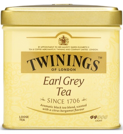 Twinings Earl Grey Thee Blik (200g)