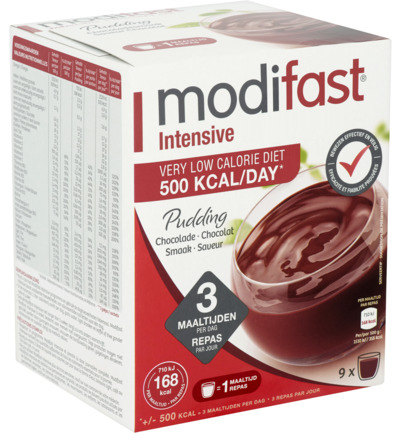 Modifast Intensive Pudding Chocolade 423gr