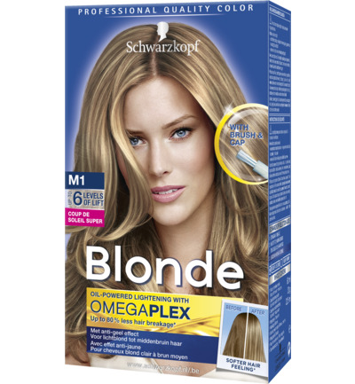Schwarzkopf Poly Blonde Coupe De Soleil Super 50ml