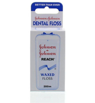 Dental reach floss waxed 200 meter