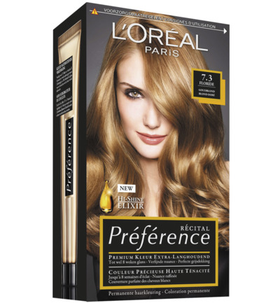 Recital preference 7.3 goudblond