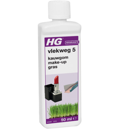 Vlekweg nr 5 make-up gras etc