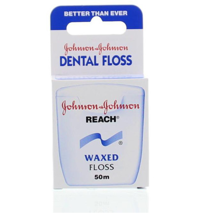 Dental reach floss waxed