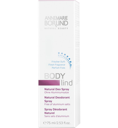 Body lind deodorant spray
