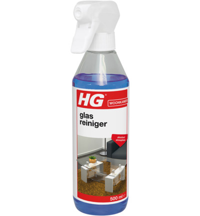 Hg Glas and Spiegelspray 500ml