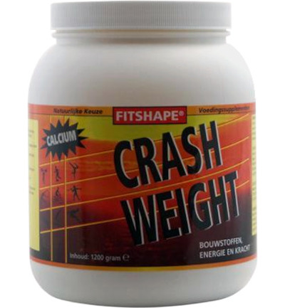 Crash weight aardbei