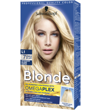 Schwarzkopf Poly Blonde Intensive Blond L1 Super 50ml