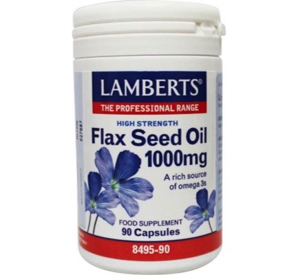 Lijnzaadolie (flaxseed oil) 1000 mg