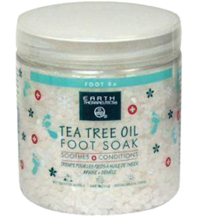 Foot soak zout tea tree