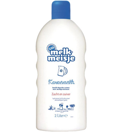 Melkmeisje Bad En Douche Karnemelk (2000ml)