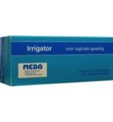 Irrigator set vaginaal
