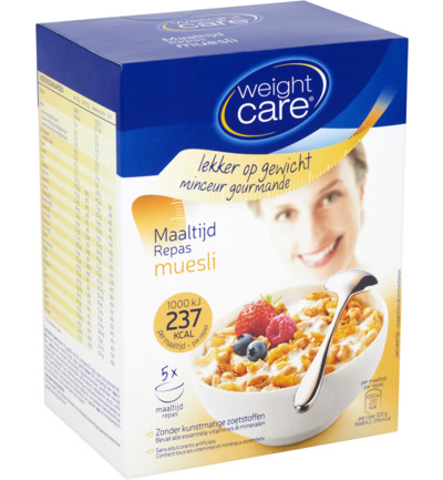Weight Care Maaltijdmuesli Krokante Muesli 5st