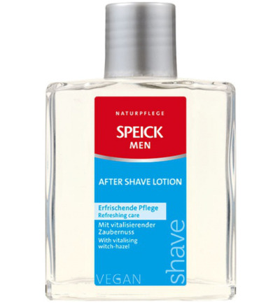 Man aftershave lotion
