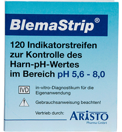 PH Meetstrips blemastrip pH 5.6 - 8.0