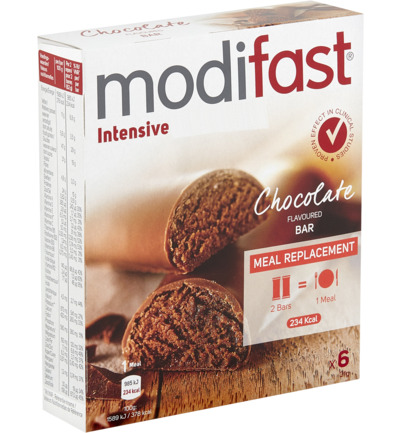 Modifast Lunchrepen Chocolade