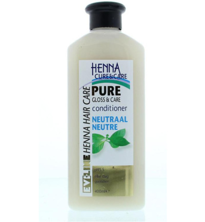 Conditioner pure no parabens neutraal