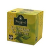 Exotic lime groene thee