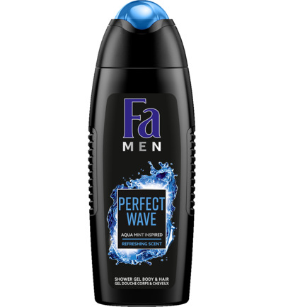 Men douche perfect wave kickoff
