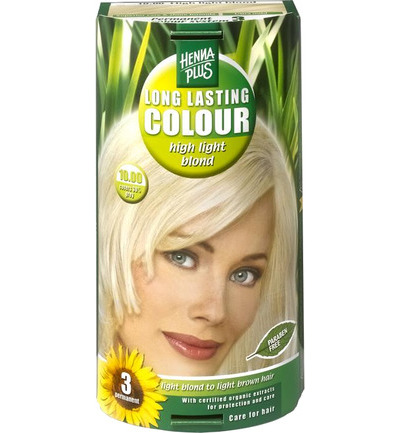 Long lasting colour 10.01 silver blond