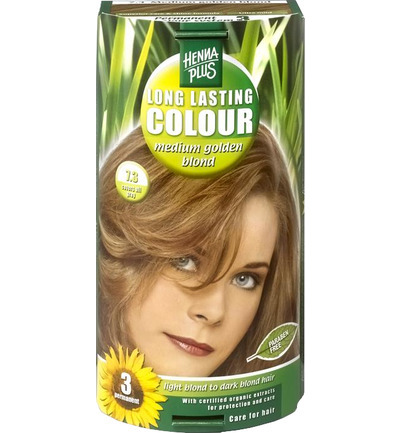 Long lasting colour 7.3 medium golden blond