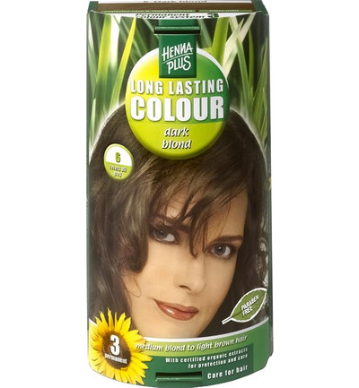 Long lasting colour 6 dark blond