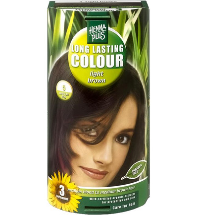 Long lasting colour 5 light brown