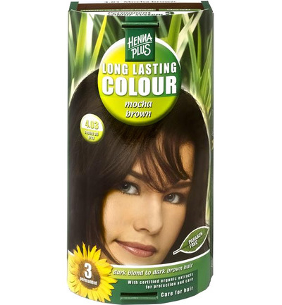 Long lasting colour 4.03 mocha brown