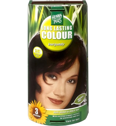Long lasting colour 3.67 burgundy