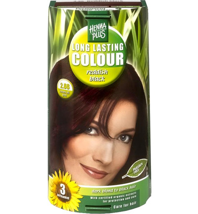Long lasting colour 2.66 reddish black