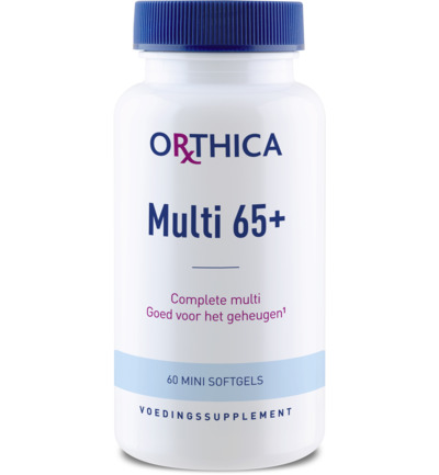 Orthica Soft Multi 65+ 60 softgels