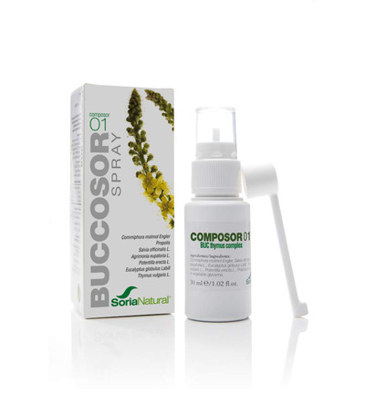 Buccosor spray propolis