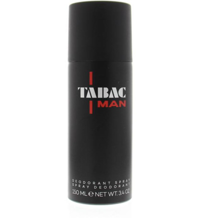 Man deodorant spray