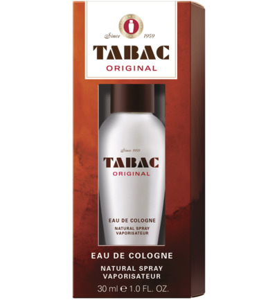 Original eau de cologne natural spray