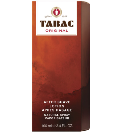 TABAC AFTER SHAVE NATURAL SPR 100ML
