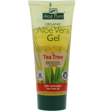 Aloe vera gel organic tea tree