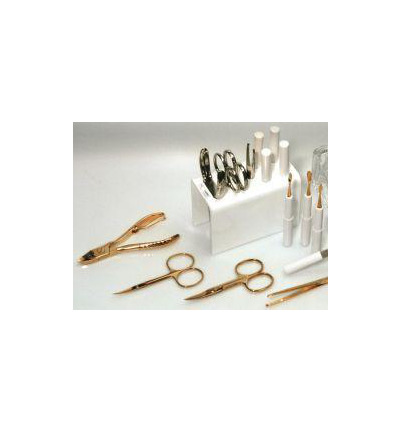 Manicure stand wit goud HS+NS+